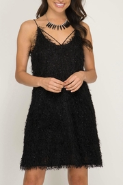 She + Sky Fuzzy Cami Dress - Product Mini Image