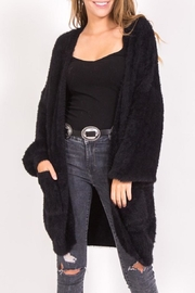 LoveRiche Fuzzy Cardigan - Product Mini Image