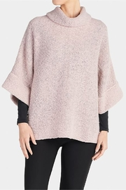The Good Bead Fuzzy Cowl neck Top - Front cropped