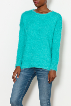 Staccato Fuzzy Crew Neck Sweater - Product List Image