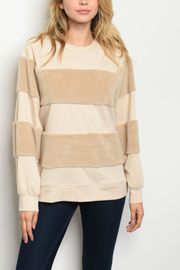 Lyn-Maree's  Fuzzy Crewneck - Front cropped
