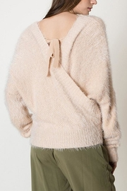 HYFVE Fuzzy Crossover Sweater - Front full body