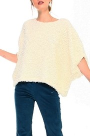 TCEC Fuzzy Dolman Sweater - Front cropped