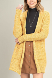 Mittoshop Fuzzy Front Pocket Cardi - Product Mini Image