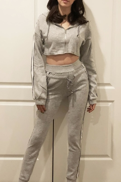 Hot & Delicious Fuzzy Jogger Set - Product List Image