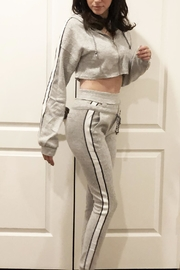Hot & Delicious Fuzzy Jogger Set - Front full body