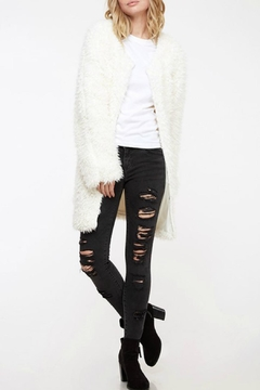 Fantastic Fawn Fuzzy Knit Coat - Product List Image