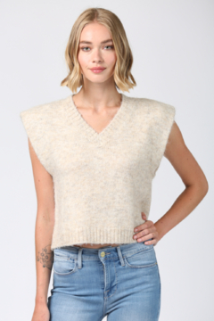 Fate Fuzzy Knitted Vest - Product List Image