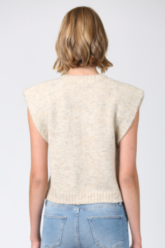 Fate Fuzzy Knitted Vest - Alternate List Image