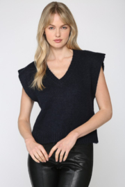 Fate  Fuzzy Knitted Vest - Product Mini Image