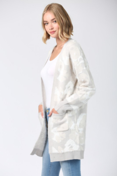 Fate Fuzzy Leopard Cardigan - Product List Image