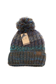 C.C Beanie Fuzzy-Lined Multicolored Beanie - Product Mini Image