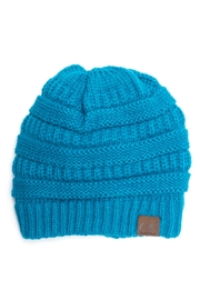 C.C. Fuzzy Lining Beanie - Front cropped