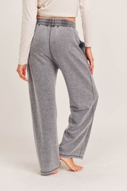 Mono B Fuzzy Mineral Washed Lounge Pants - Side cropped