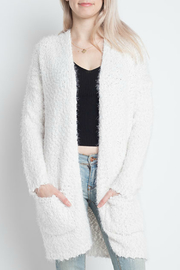 Dreamers Fuzzy open Cardigan - Product Mini Image