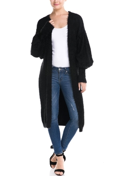 Shoptiques Product: Fuzzy Oversized Cardigan