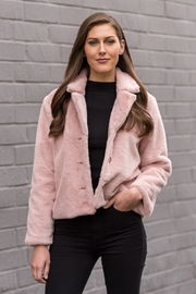 Biz Fuzzy Pink Jacket - Product Mini Image