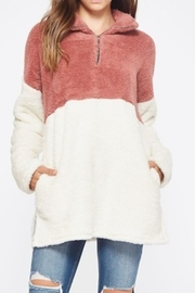 Bellamie Fuzzy Pull-Over Sweater - Product Mini Image