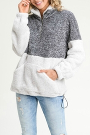 Pretty Little Things Fuzzy Pullover Sweater - Product Mini Image
