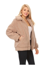 Polly & Esther Fuzzy Sherpa Jacket - Product Mini Image