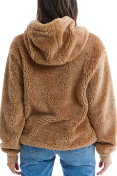 Allison Collection Fuzzy Sherpa Pullover - Alternate List Image