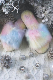 MALVADOS Fuzzy Slippers - Front full body