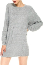TCEC Fuzzy Sweater Dress - Product Mini Image
