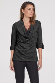 Tribal  Fuzzy Sweater With Fooler Cami - Product Mini Image