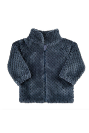 Minymo Fuzzy Zip-up Jacket - Product Mini Image
