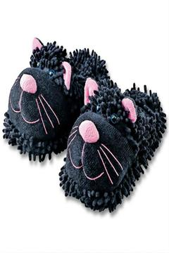 Fuzzy Friends Cat Slippers - Alternate List Image