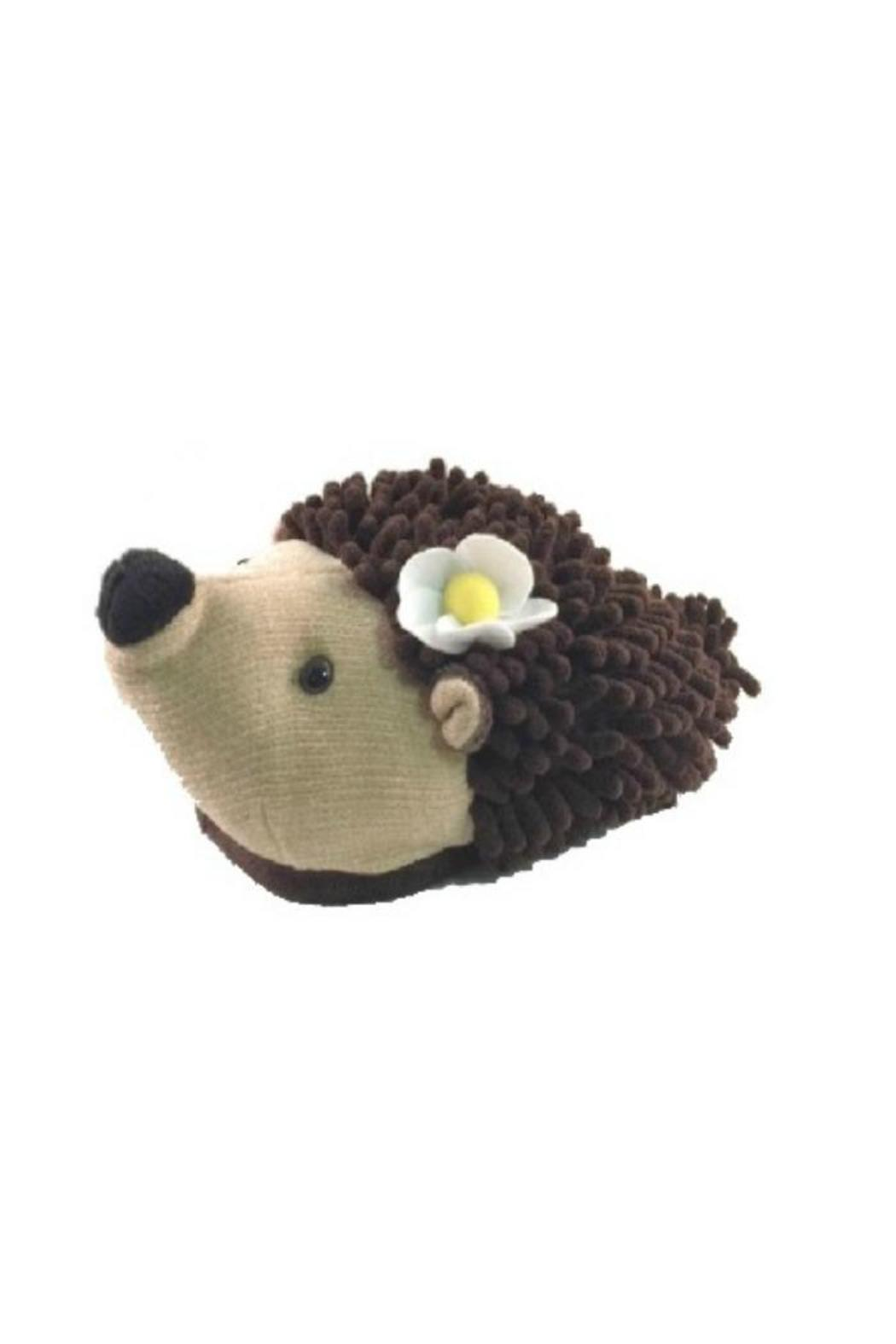 Fuzzy Friends Hedgehog Slippers - Main Image
