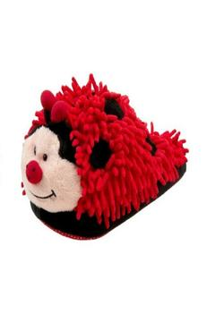 Fuzzy Friends Ladybug Slippers - Product List Image