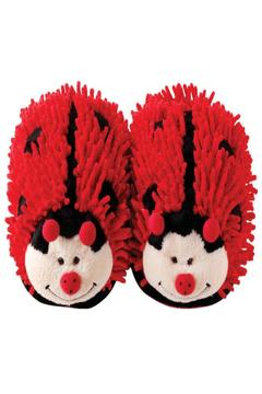 Fuzzy Friends Ladybug Slippers - Alternate List Image