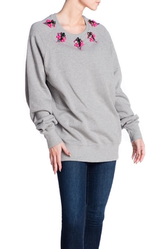 Fyodor Golan Embroidered Neckline Sweater - Product List Image
