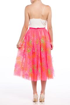 Fyodor Golan Floral Tulle Skirt - Alternate List Image