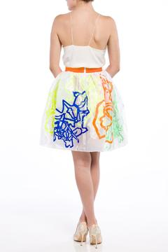 Fyodor Golan Gathered Floral Skirt - Alternate List Image
