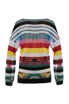 Fyodor Golan Liquid-Print Knit Sweater - Product List Image