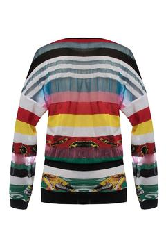 Fyodor Golan Liquid-Print Knit Sweater - Alternate List Image