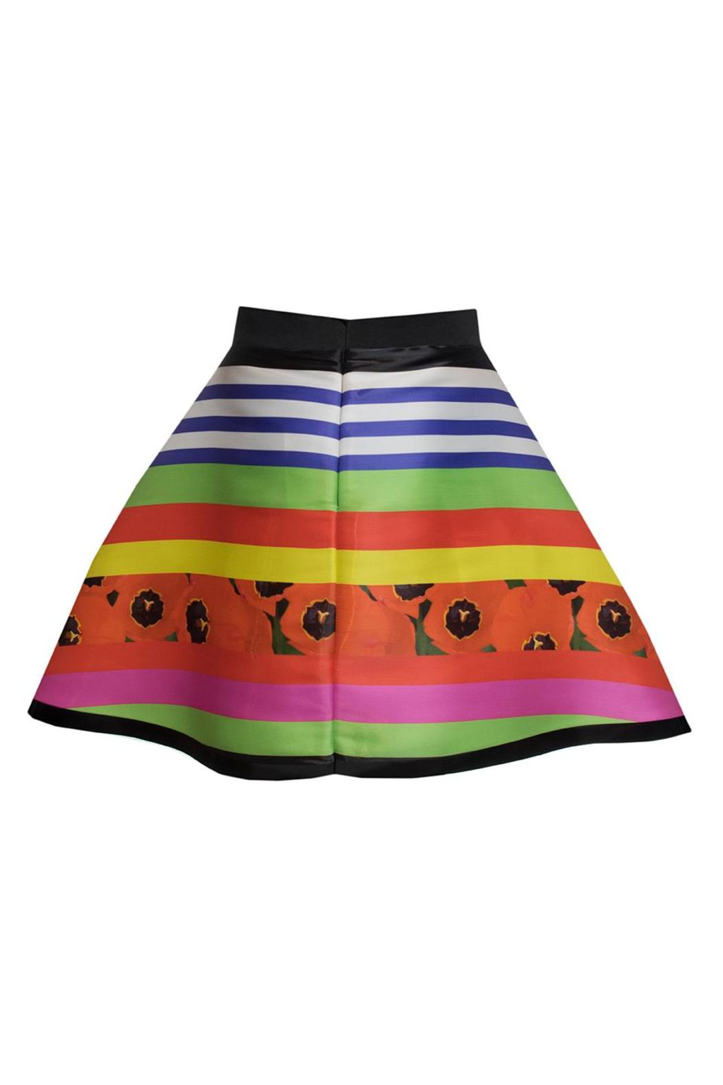 Fyodor Golan Liquid Print Skirt - Side Cropped Image