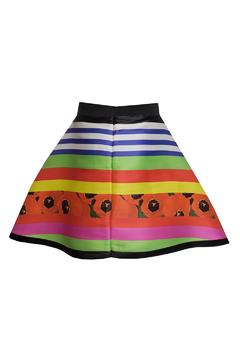Fyodor Golan Liquid Print Skirt - Alternate List Image