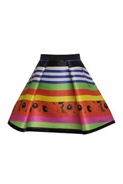 Fyodor Golan Liquid Print Skirt - Product List Image