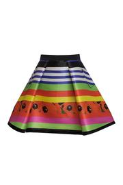 Fyodor Golan Liquid Print Skirt - Product Mini Image