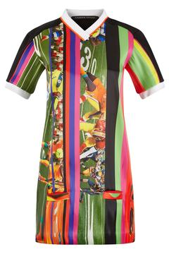 Fyodor Golan Liquid Print Soccer Dress - Alternate List Image