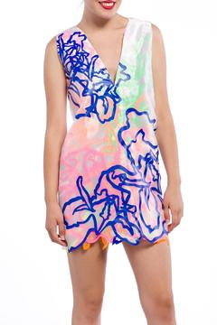 Fyodor Golan Psychedelic Sleeveless Dress - Product List Image