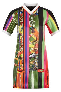 Fyodor Golan Soccer Print Dress - Alternate List Image
