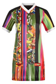 Fyodor Golan Soccer Print Dress - Front cropped