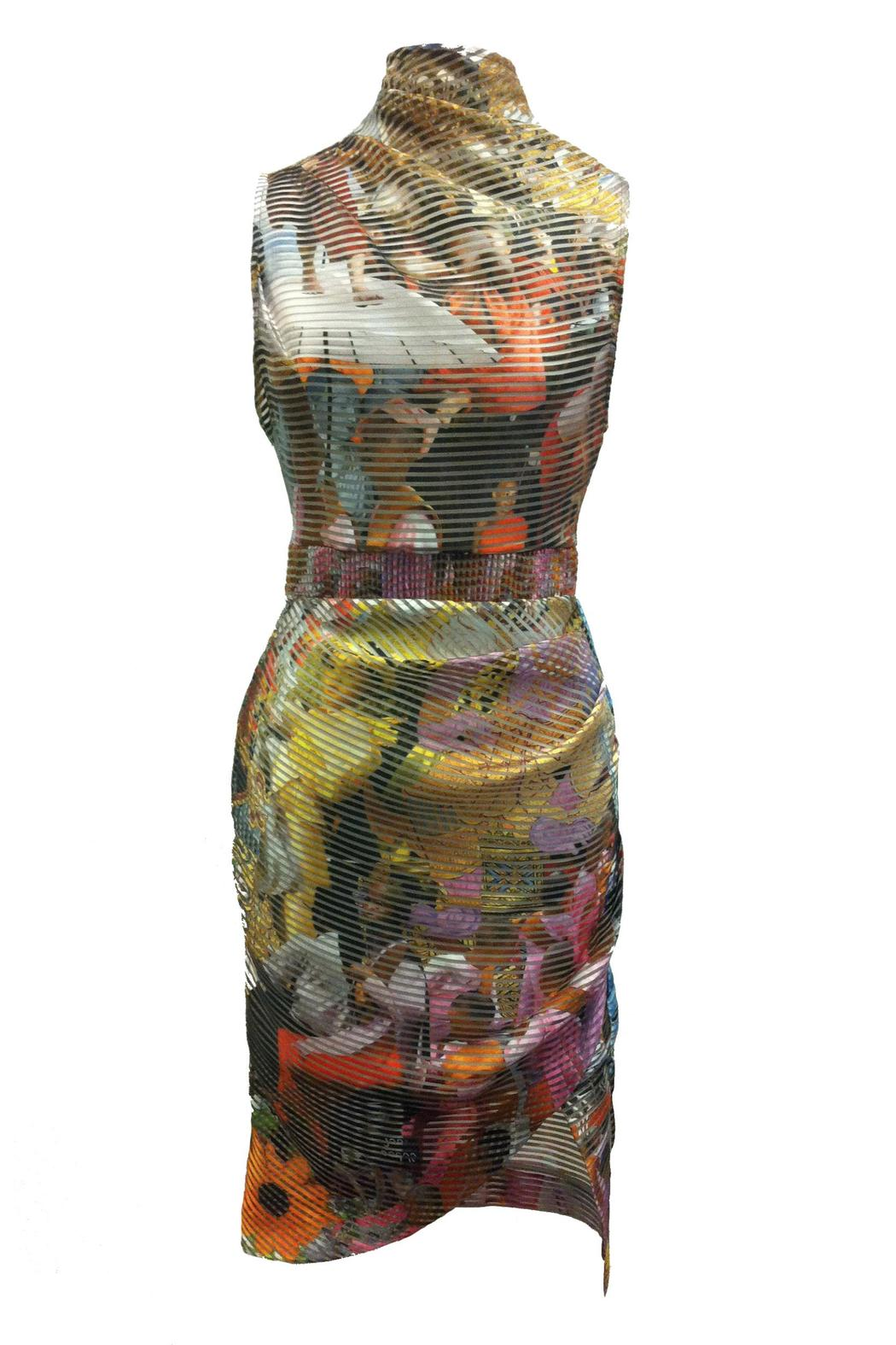 Fyodor Golan Wrap Style Dress - Front Cropped Image