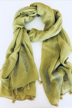 Do Everything in Love G/g Tassel Scarf - Product List Image