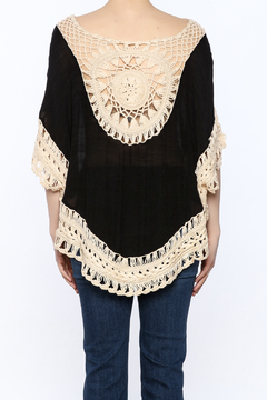 G Black Poncho Top - Alternate List Image