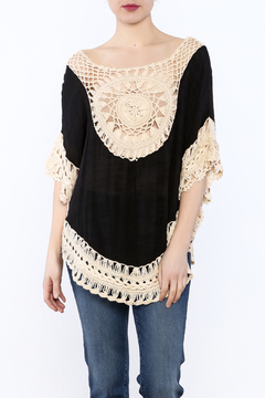 G Black Poncho Top - Product List Image